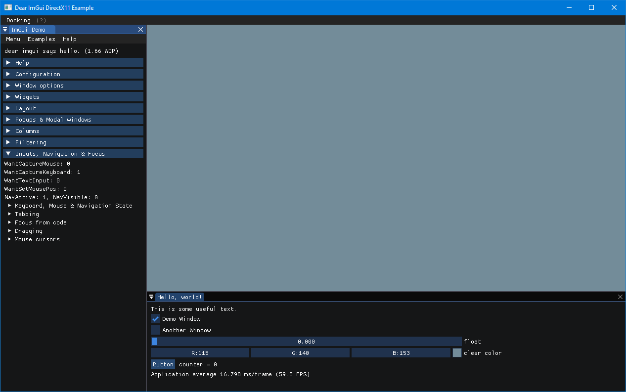 Docking branch available for testing · Issue #2109 · ocornut/imgui