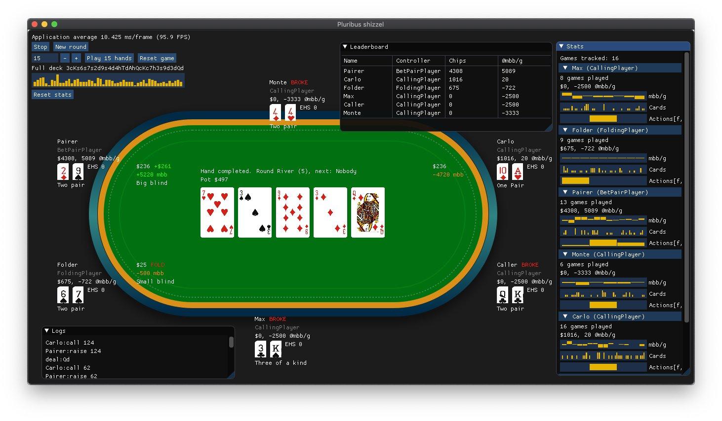pluribus poker bot