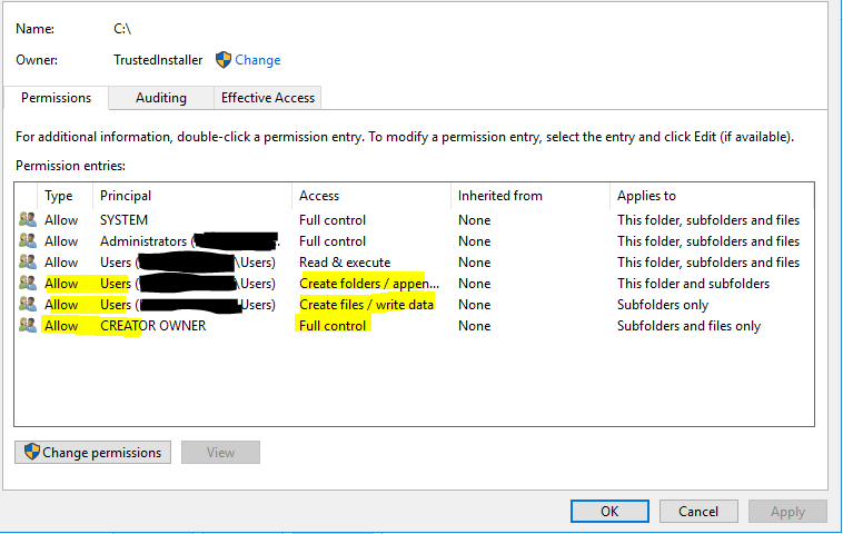 ArcGIS Server File System Permissions Issues · Issue #181 · Esri
