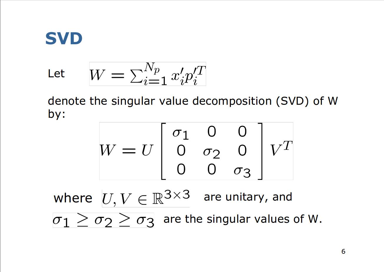Developers - Improper or bad rotation estimation with