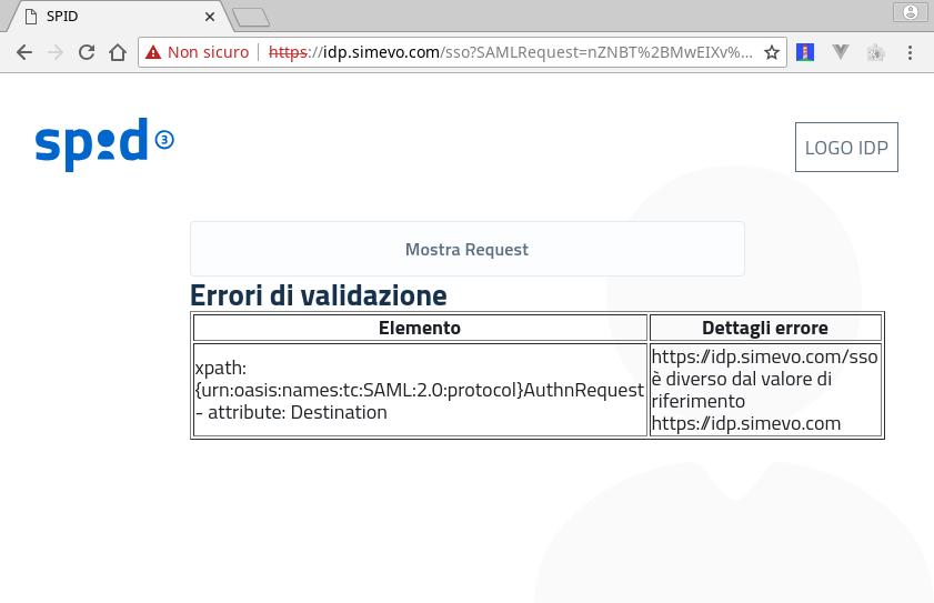 authnrequest validation error · Issue #29 · italia/spid-php