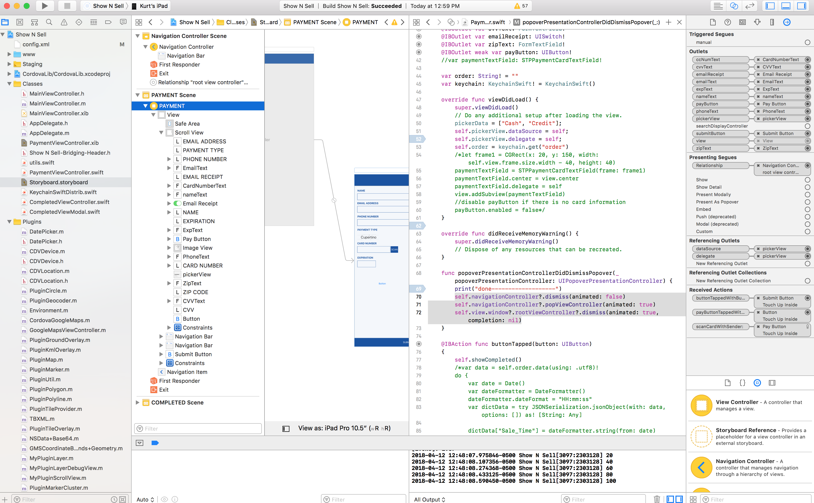 Going back to Cordova from native iOS view · Issue #8 · mfdeveloper