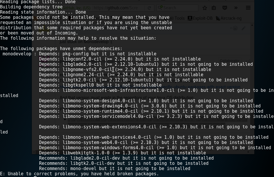 monodevelop not installing · Issue #139 · Screetsec/TheFatRat · GitHub