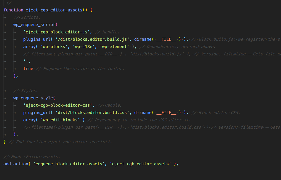 Separate front-end JS · Issue #73 · ahmadawais/create-guten