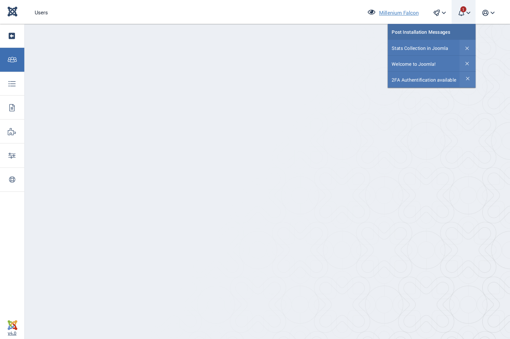 Joomla Issue Tracker Joomla Cms 21991 40 Backend Template
