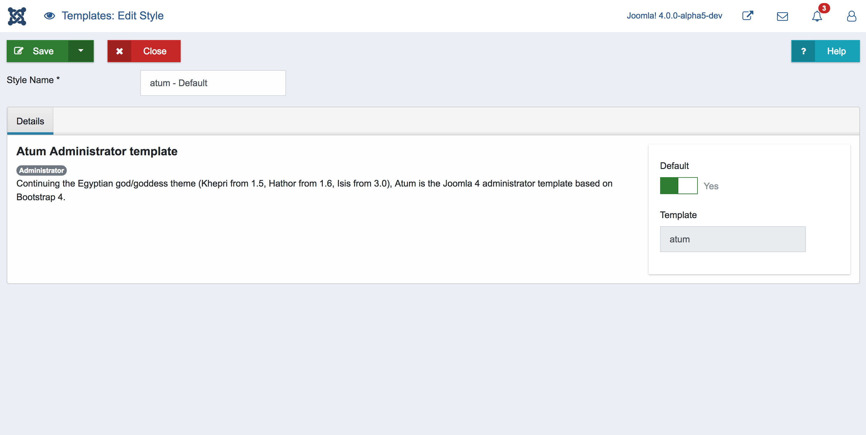 Joomla Issue Tracker Joomla Cms 22058 40 Backend Template