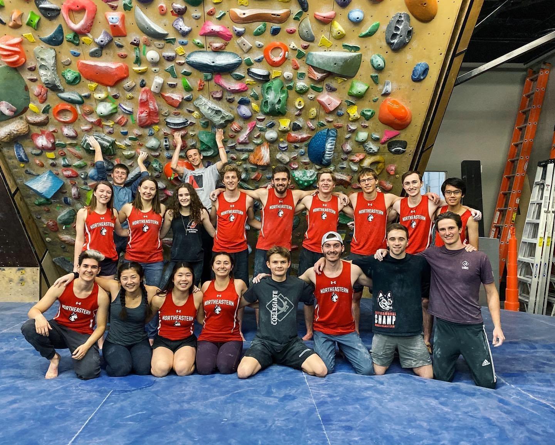 The Northeastern Climbing Team