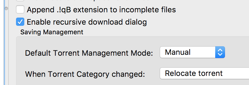 Auto TMM options missing from WebUI · Issue #9701