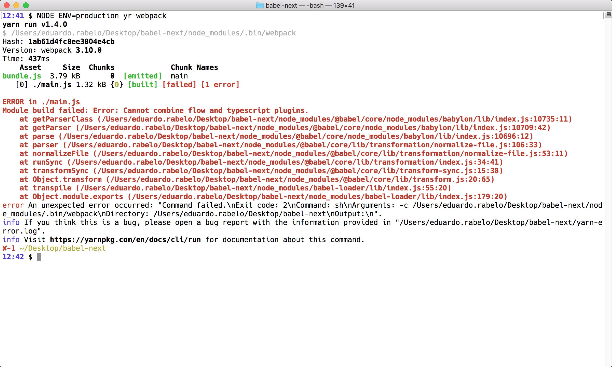 Babel 7 + babel-preset-react-app@next but with TypeScript