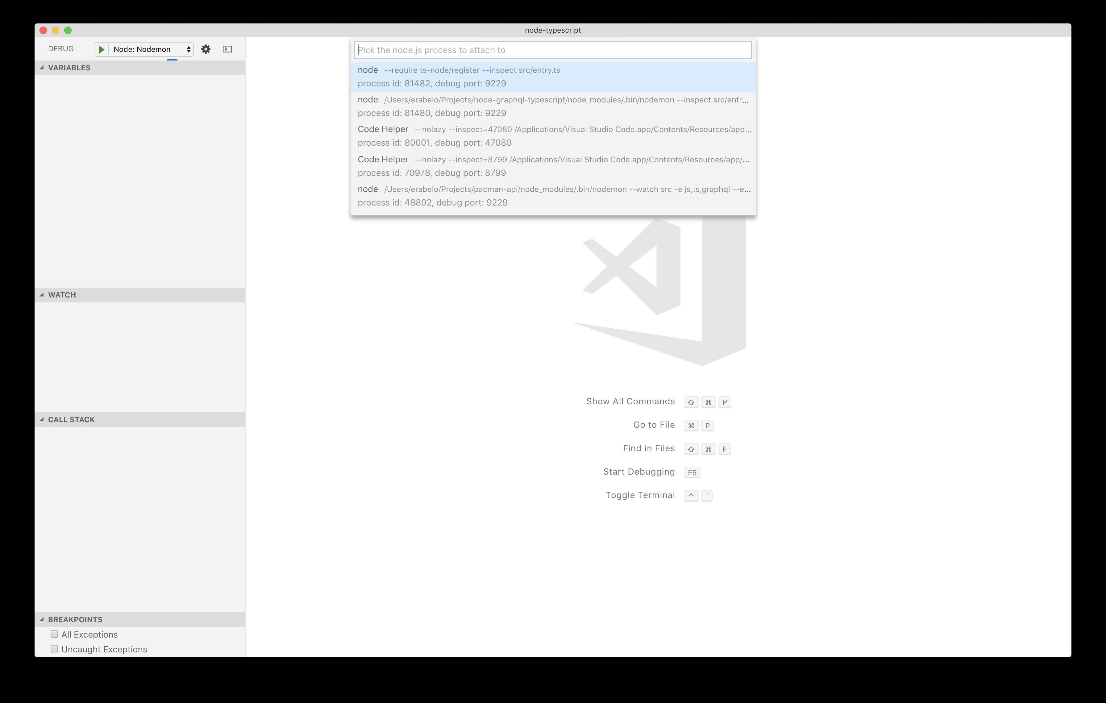 GitHub - oieduardorabelo/node-typescript: Template for bootstrap