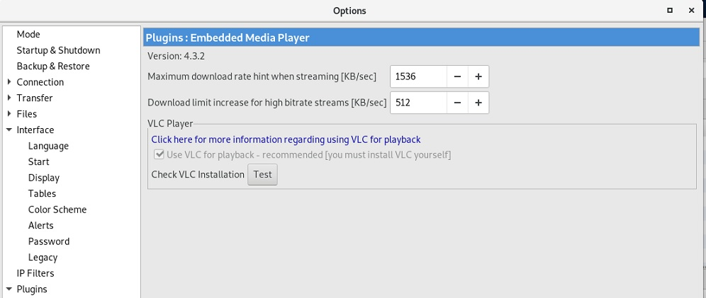 Embeded Media Player Plugin Cannot detect VLC · Issue #807
