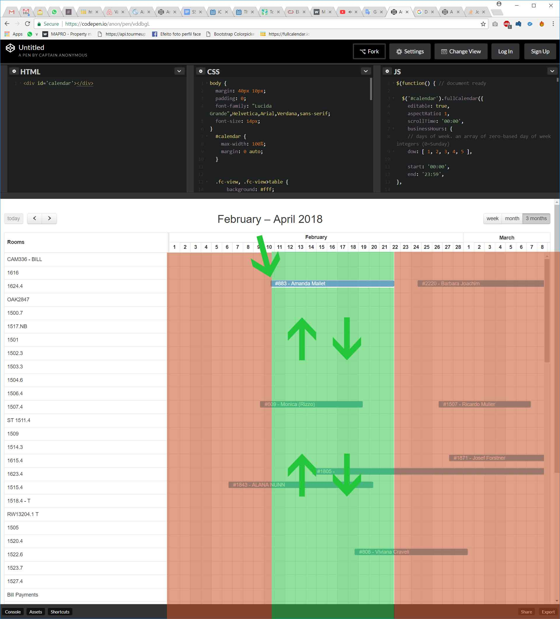 Drag only vertical Scheduler · Issue #424 · fullcalendar