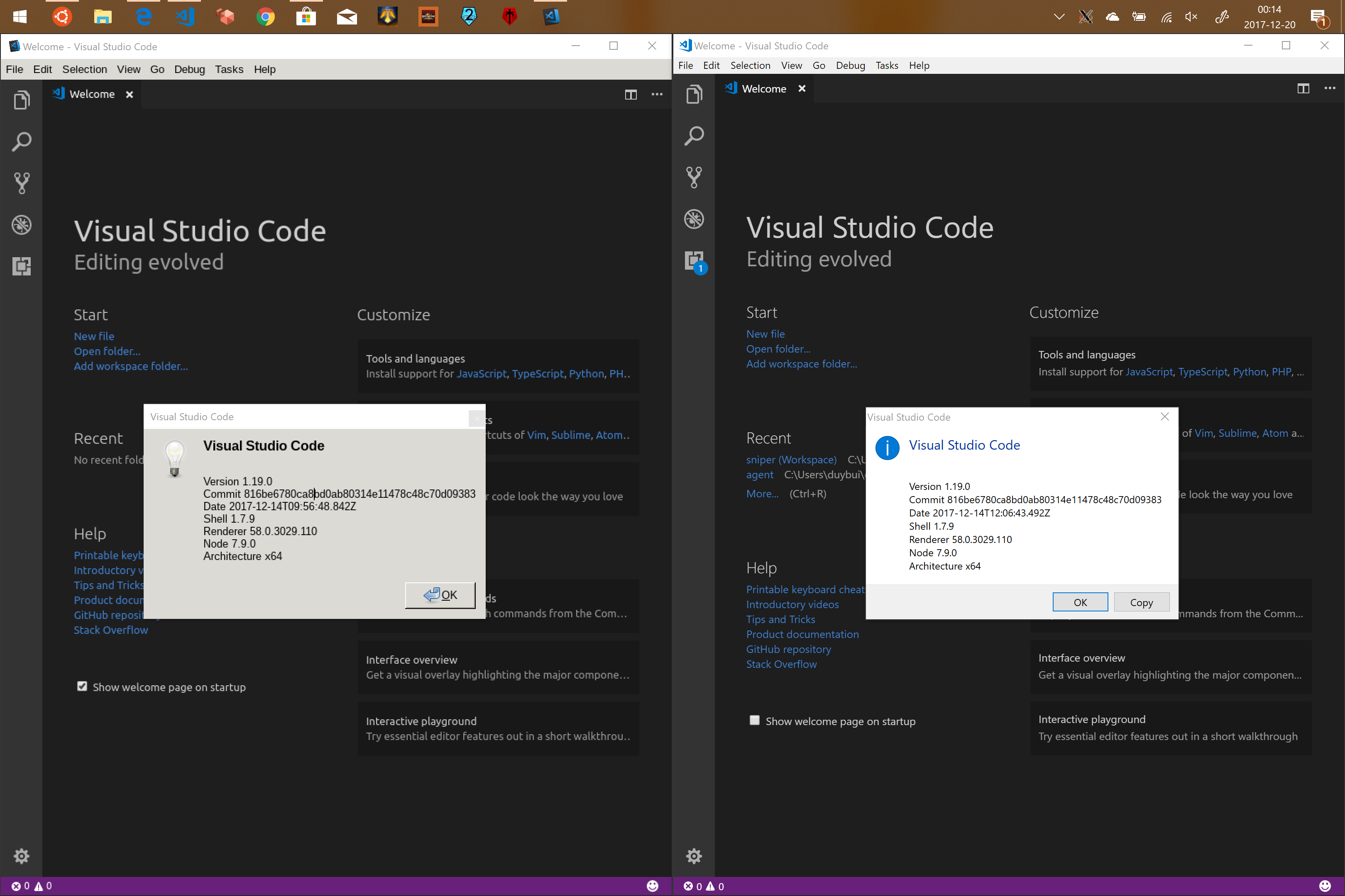 Running VSCode for Linux in WSL · Issue #2760 · microsoft