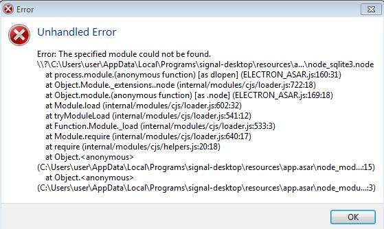 Win7x64: Unhandled Error: Cannot find module node_sqlite3 node after