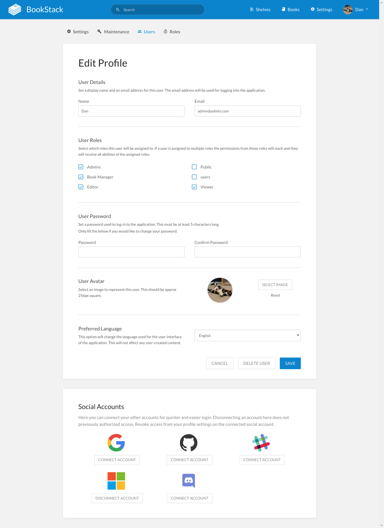 bookstackdev com_settings_users_1