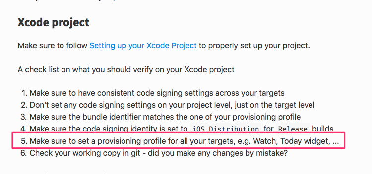 match can't set provisioning to xcode · Issue #14767