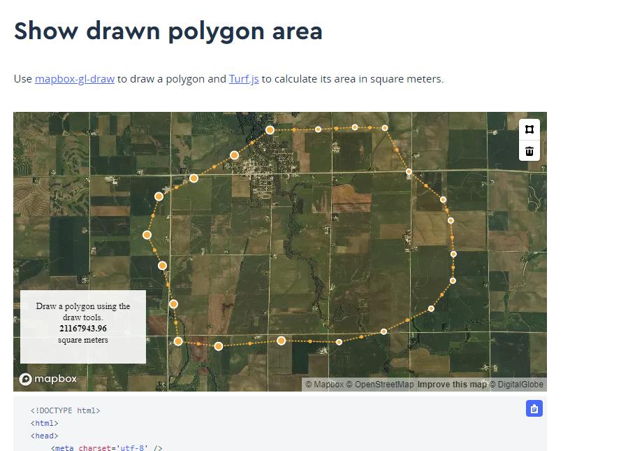 Mapbox Draw Polyline Ios