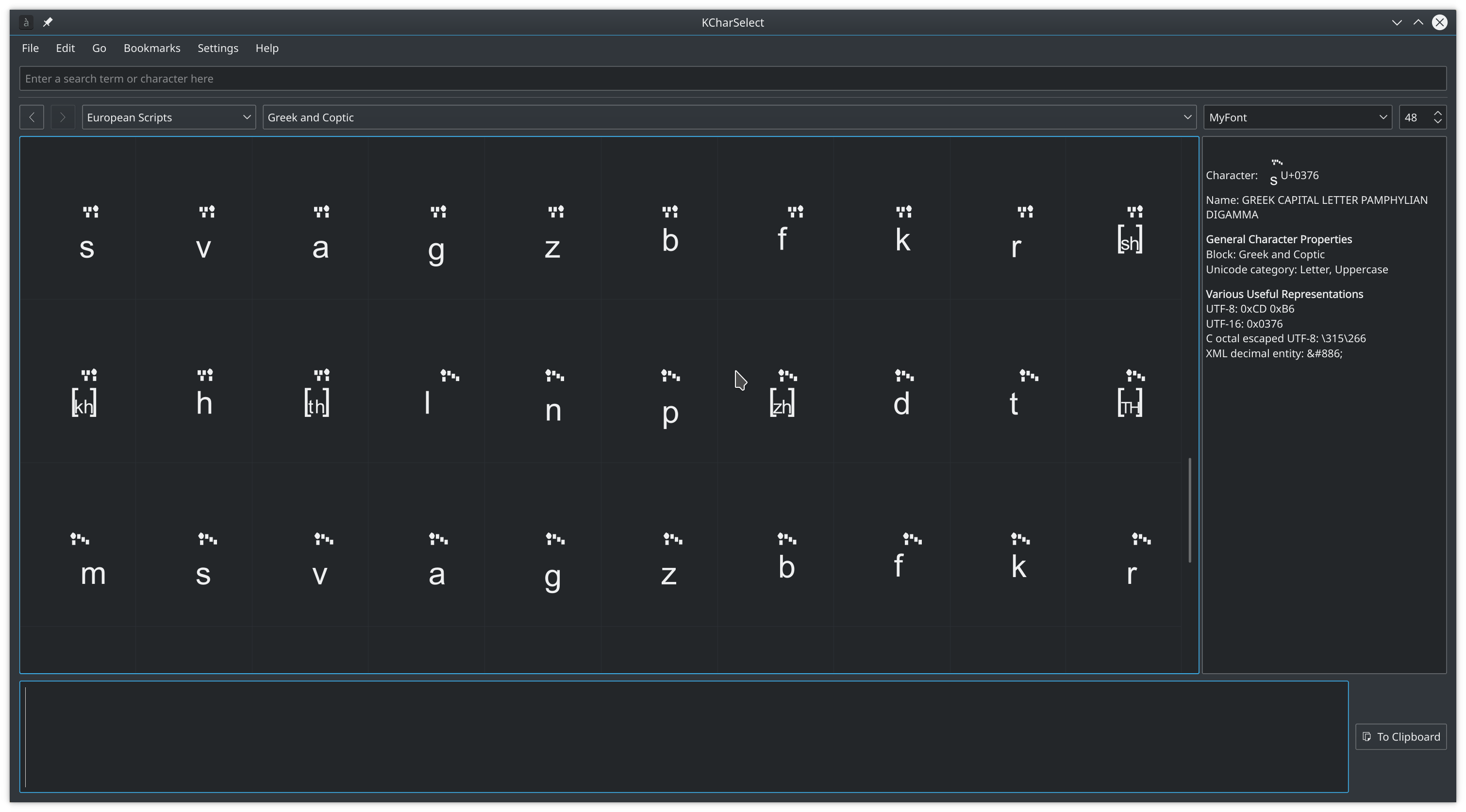 Add custom glyphs · Issue #3318 · fontforge/fontforge · GitHub