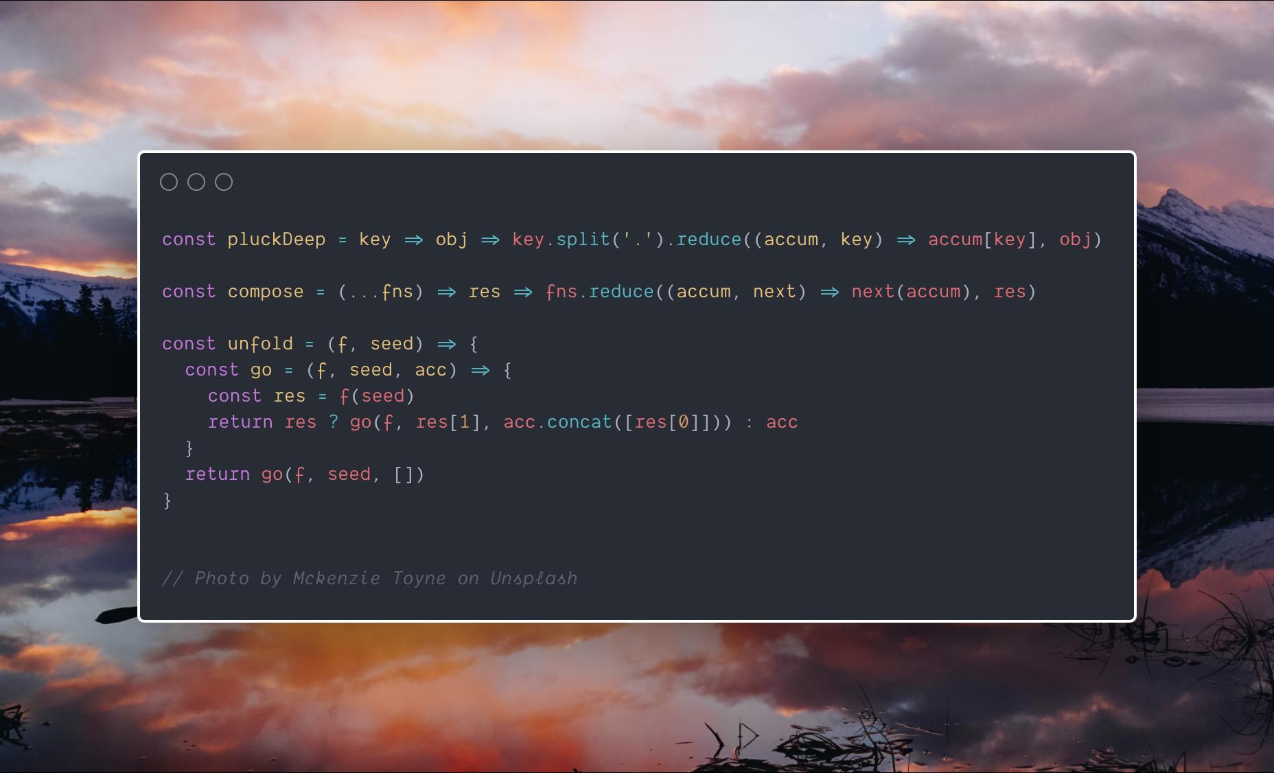carbon-app/carbon - создание скриншот кода из вашей любимой IDE