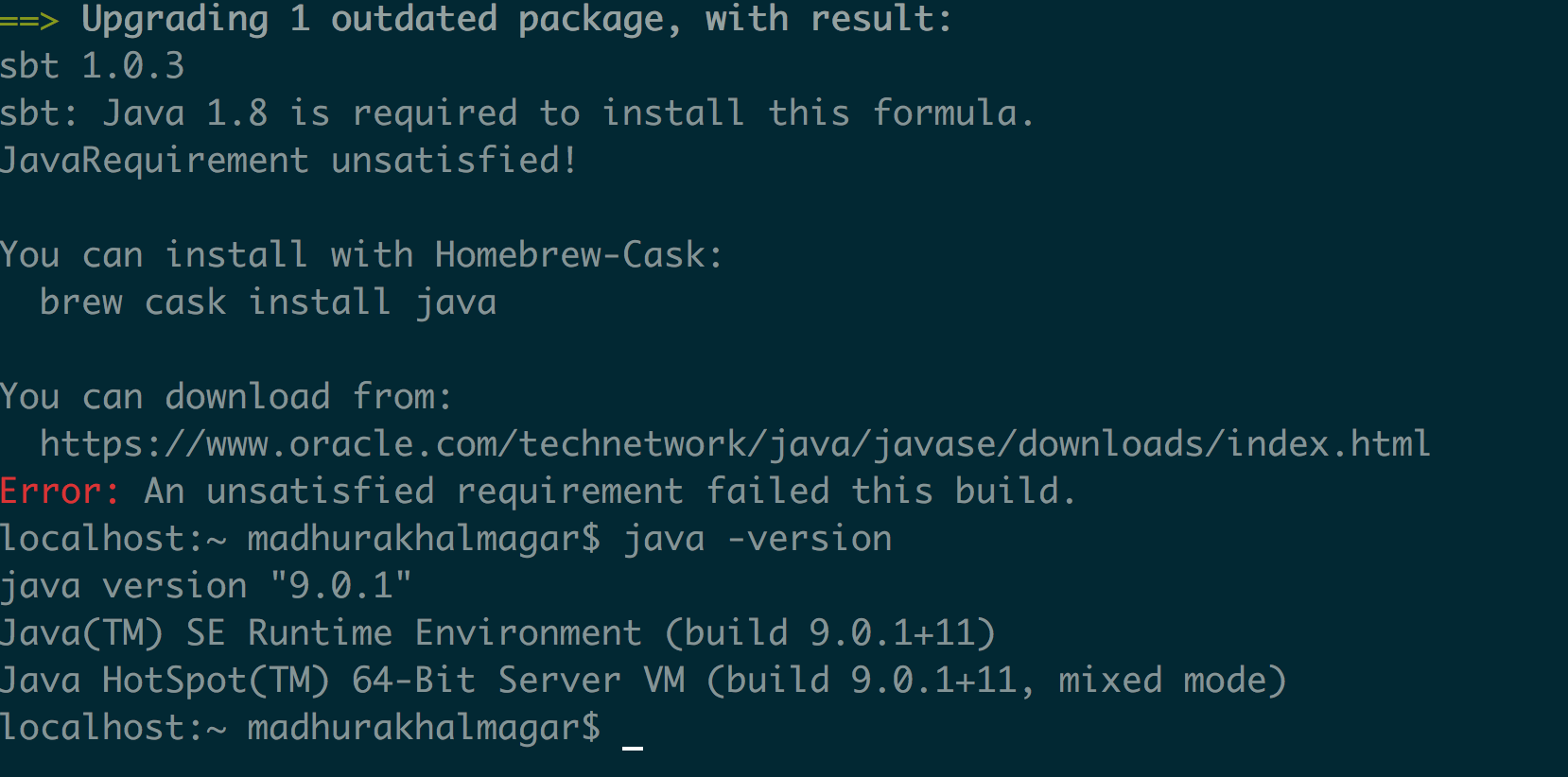 install homebrew on mac