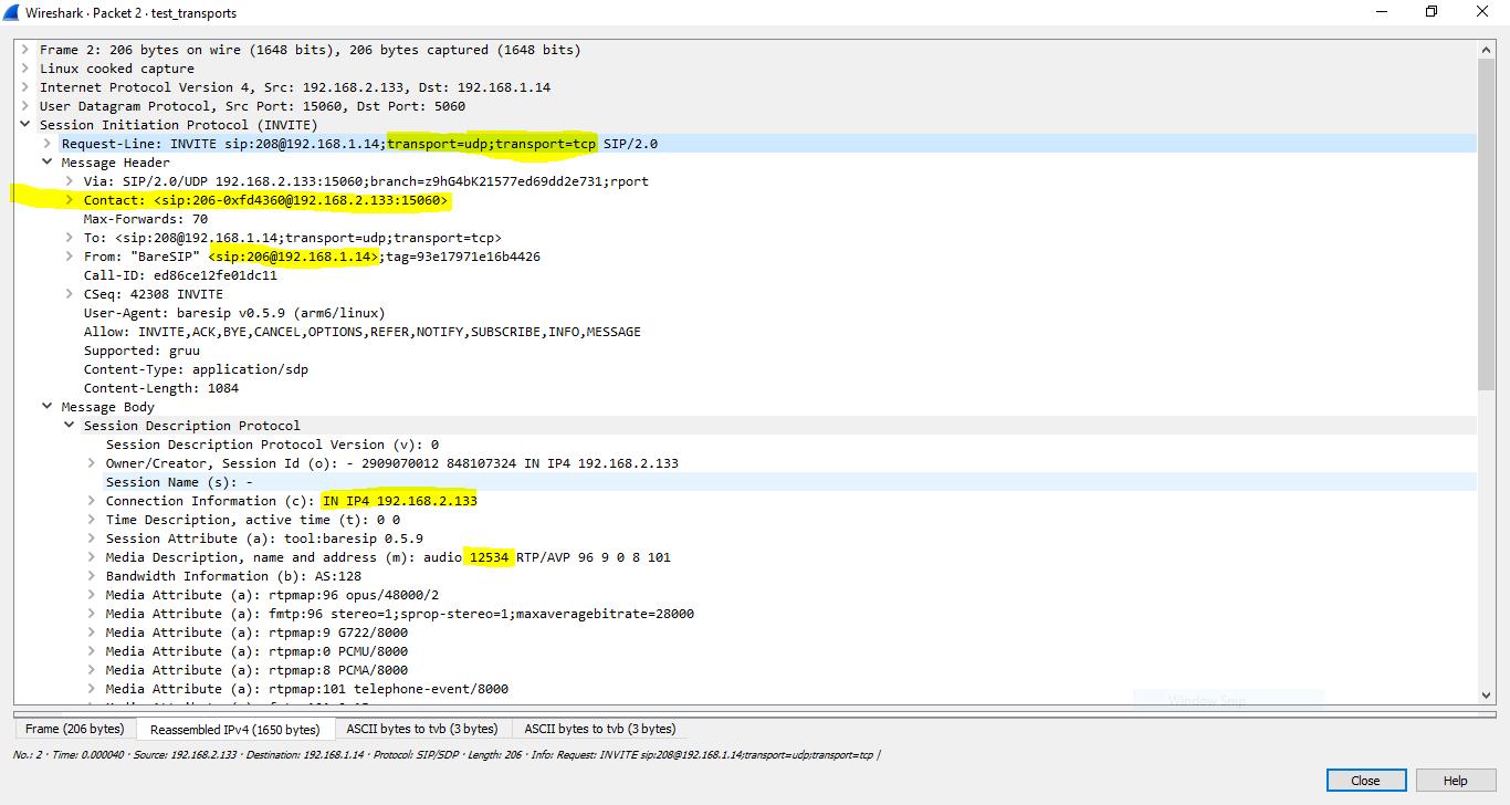 websocket transport support (RFC-7118) · Issue #479