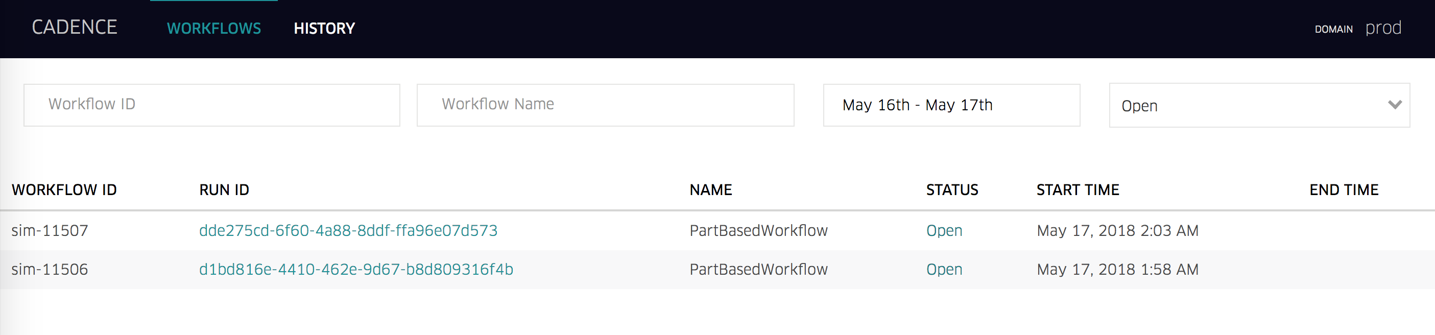 Cadence server queries not returning correct values · Issue