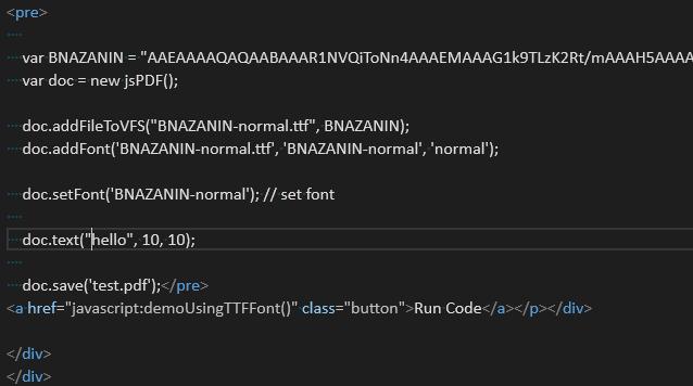 jsPDF Unicode Languages Support · Issue #2093 · MrRio/jsPDF