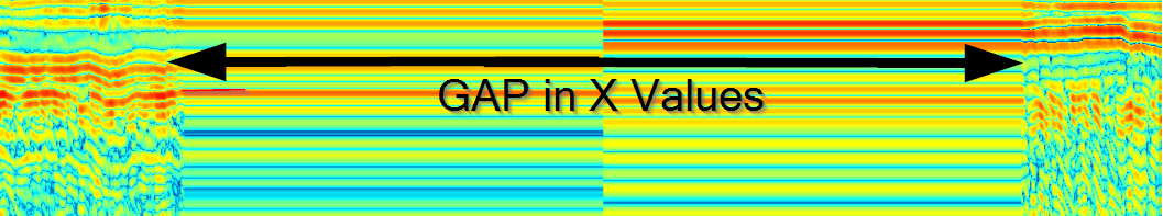 HEATMAP: Blending of Z values to fill in gaps in x value data