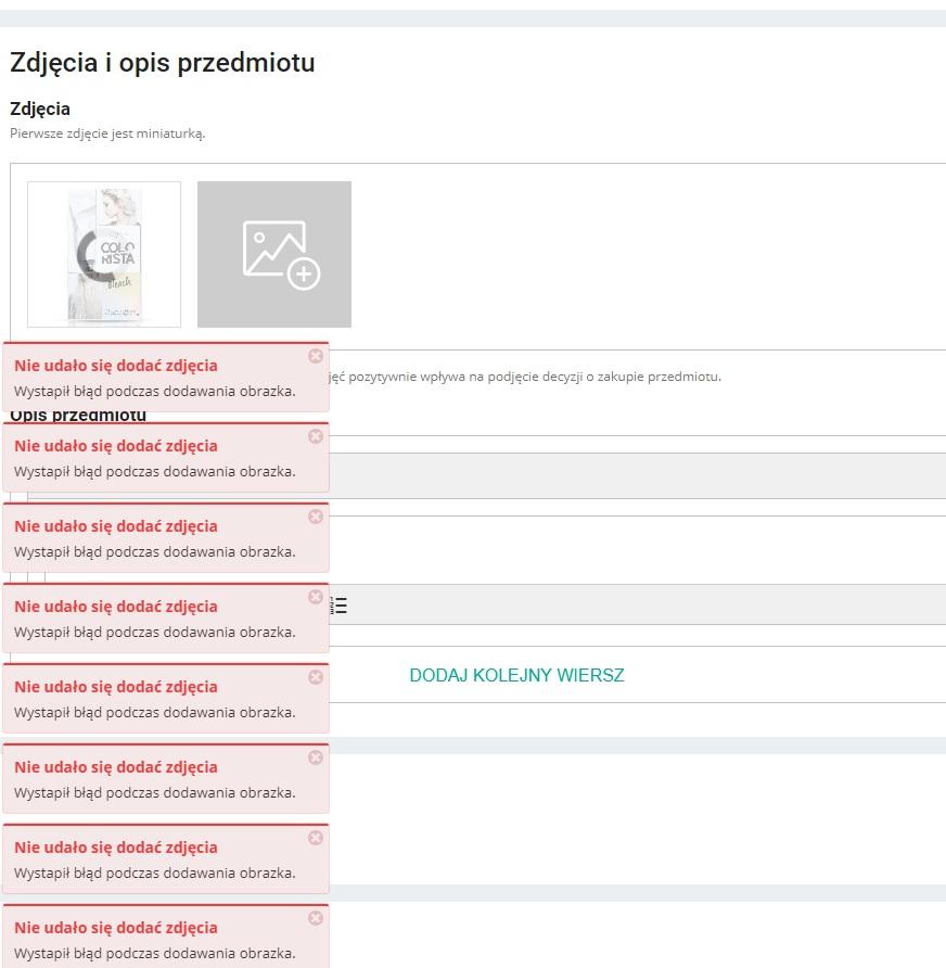 Restapi Limity Dla Przesylanych Zdjec Issue 1234 Allegro Allegro Api Github