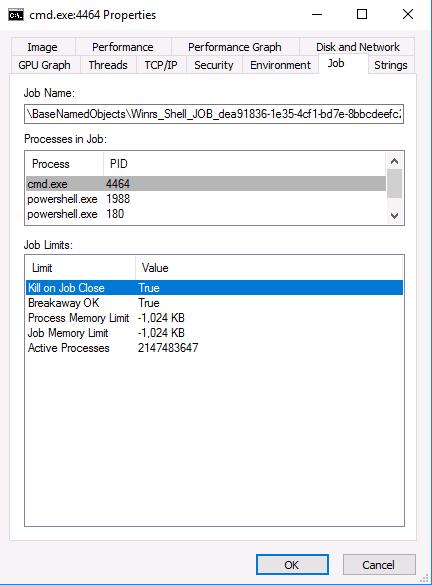 Allow Breakaway OK on SSH Job · Issue #1032 · PowerShell/Win32