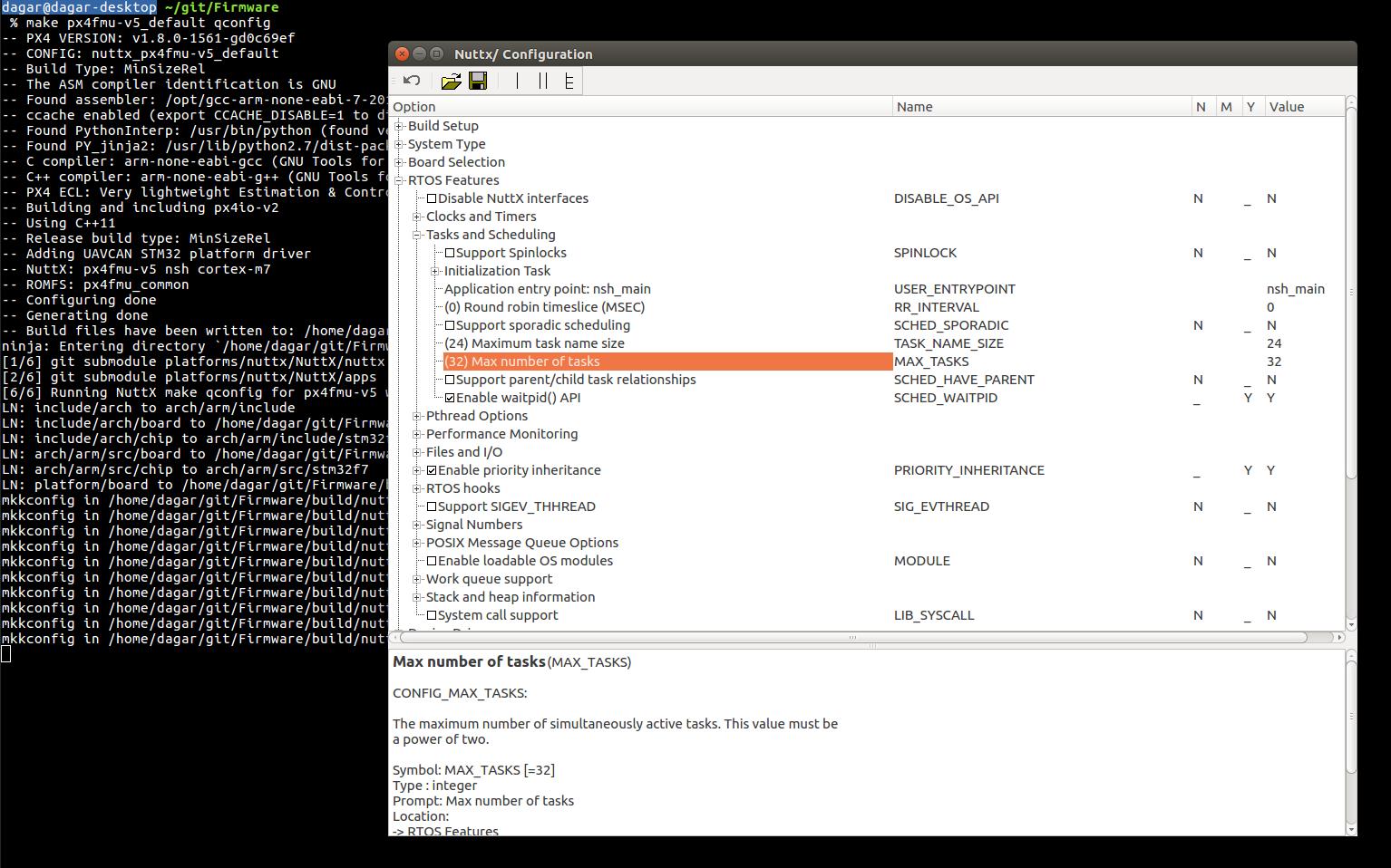 make px4fmu-v5_default menuconfig - does not work · Issue #10759