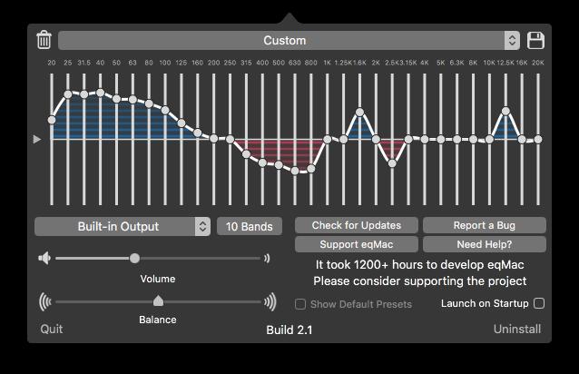 eqMac2 Screenshot EQ