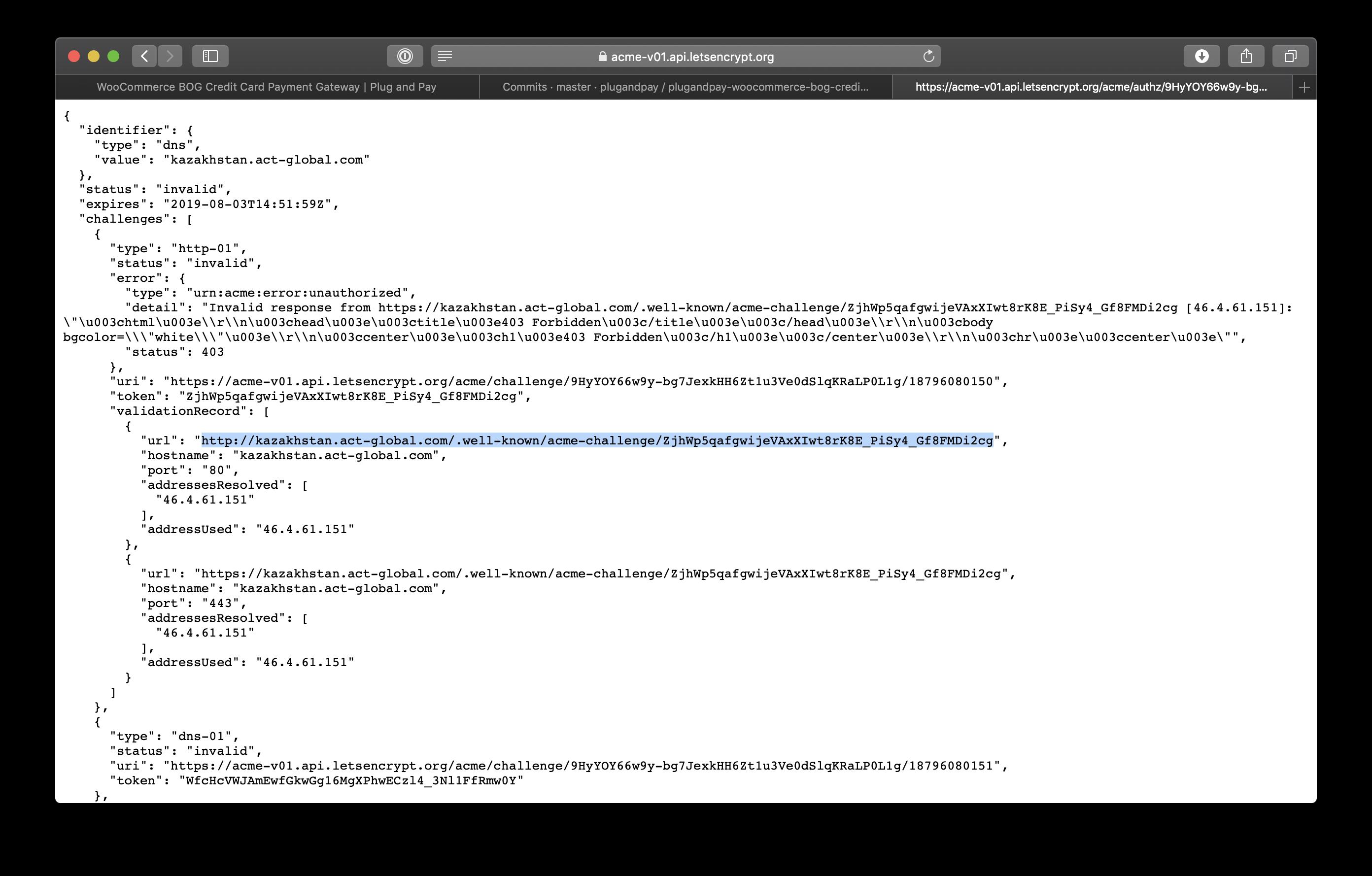 Letsencrypt Wildcard Nginx