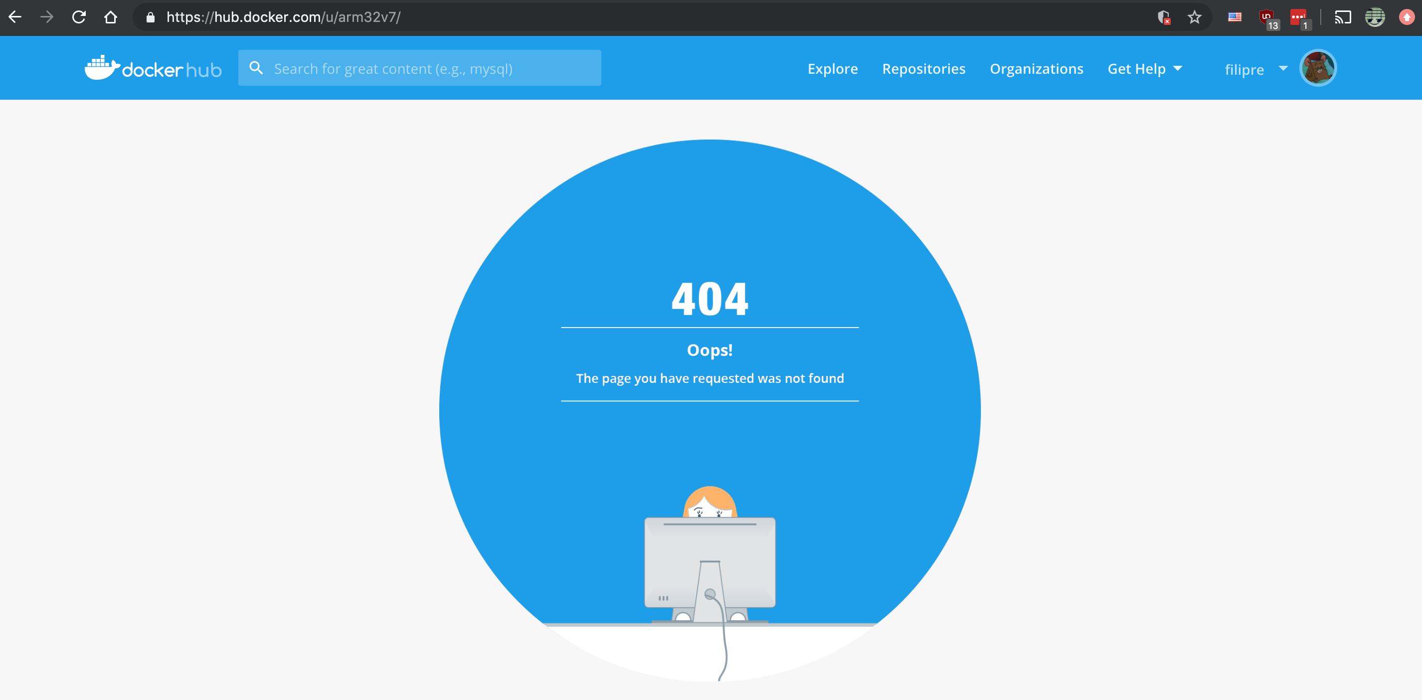 Outdated DockerHub URLs in Readme · Issue 20 · docker library ...