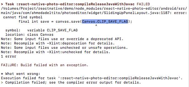Canvas CLIP_SAVE_FLAG Error · Issue #44 · prscX/react-native-photo