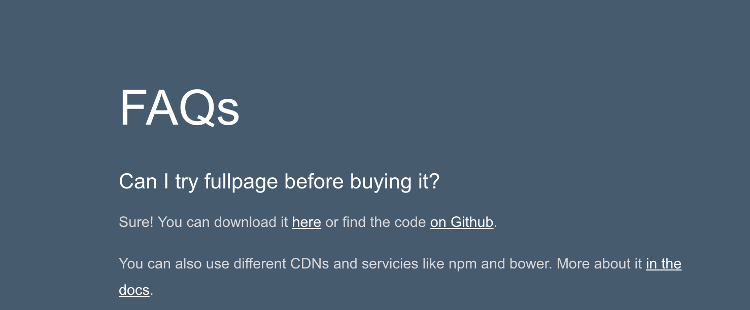 I can't try fullPage before I buy? License Key Required · Issue