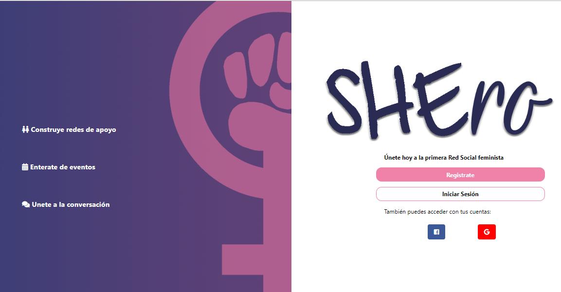 Shero: Red Social Feminista