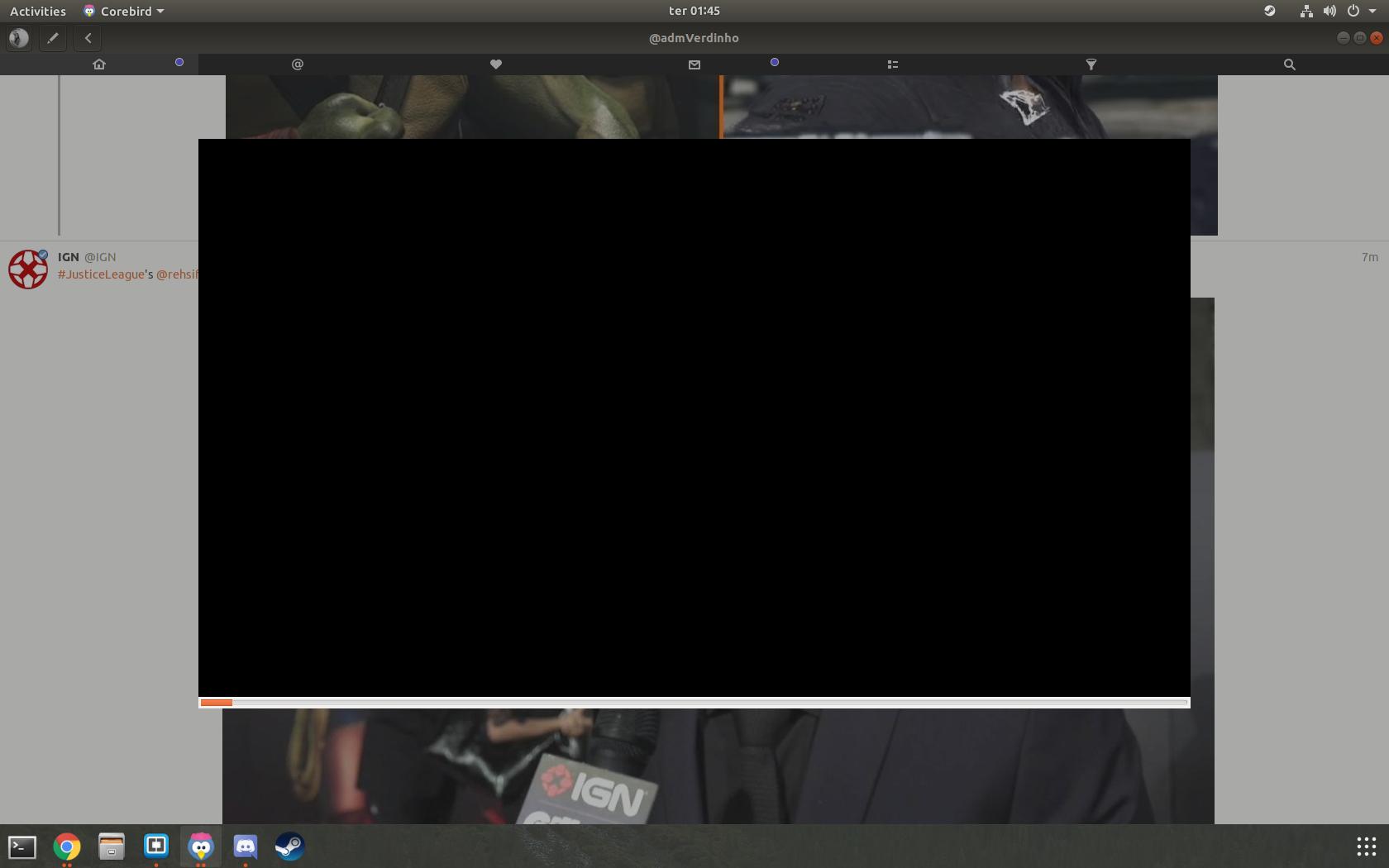 Black screen video - Ubuntu 17 10 · Issue #787 · baedert/corebird