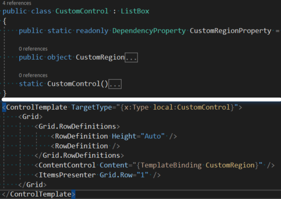 WPF] Only elements in the ItemsPresenter can be found for