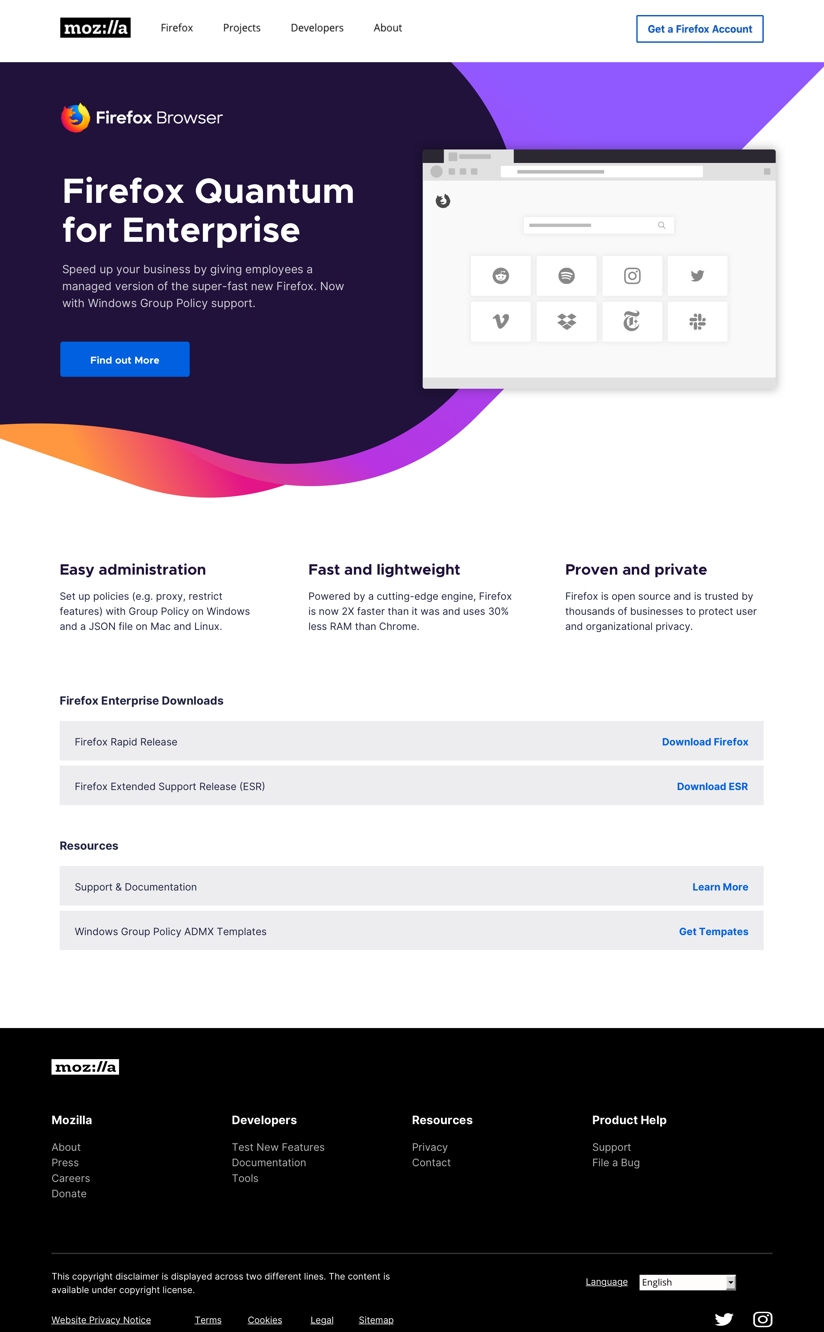 Update /enterprise visual design [July 8] · Issue #7352