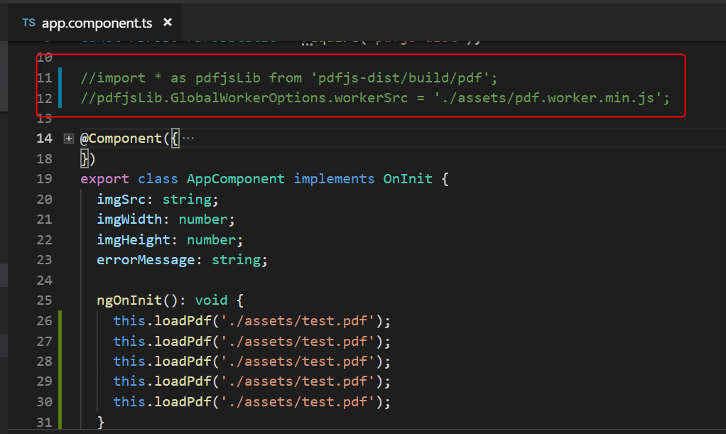Provide example of use PDFJs on Angular 4 · Issue #8836