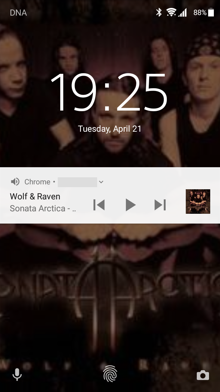 Android lock screen
