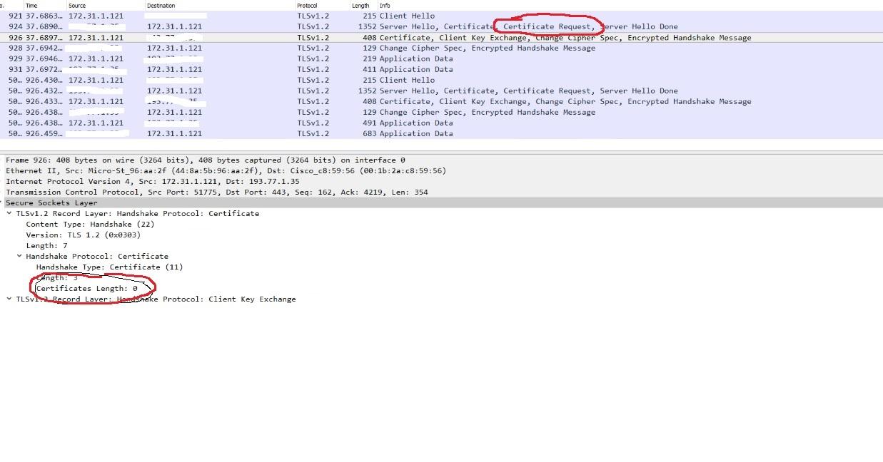 Cryptotls Client Certificate Not Sent Issue 23924 Golanggo