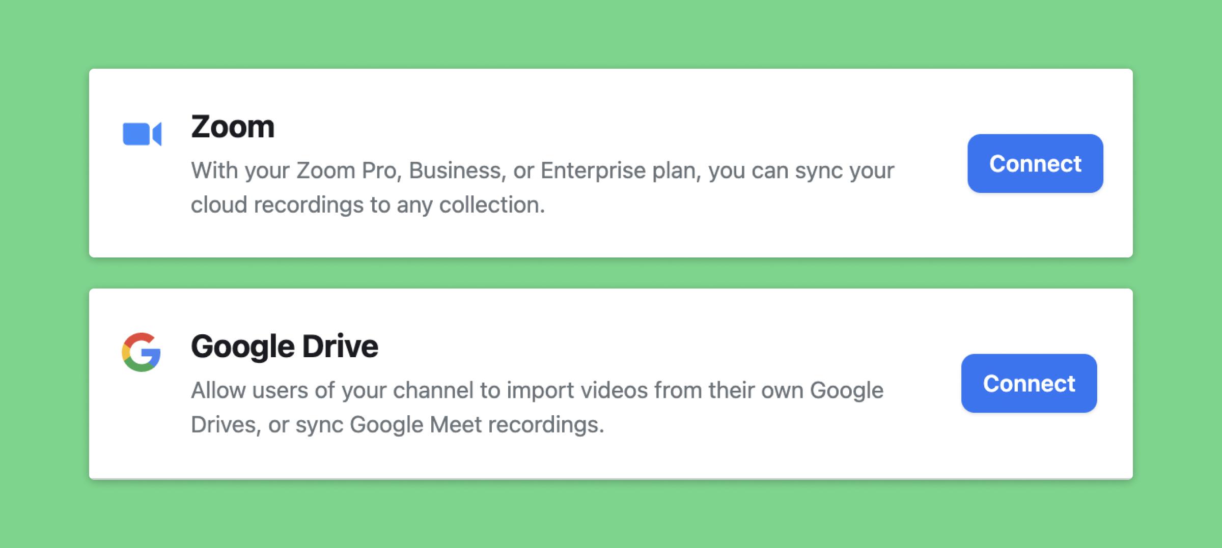 Connect-videoconferencing