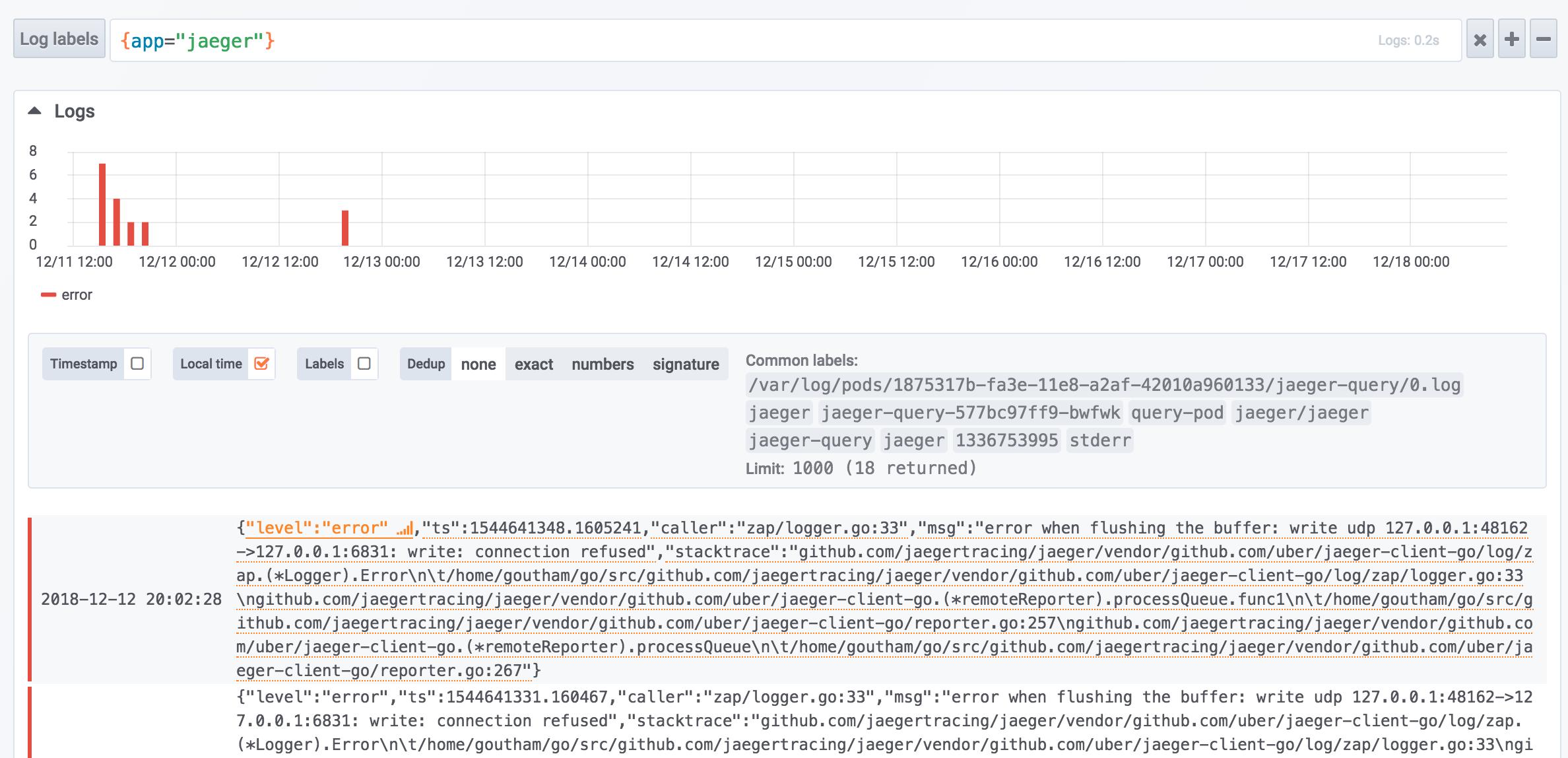 Support for JSON log lines · Issue #137 · grafana/loki · GitHub