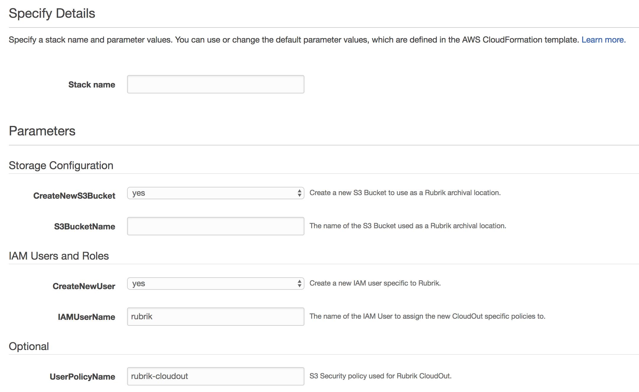 Github rubrikinccloudformation template rubrik cloudout aws cloudformation screenshot maxwellsz
