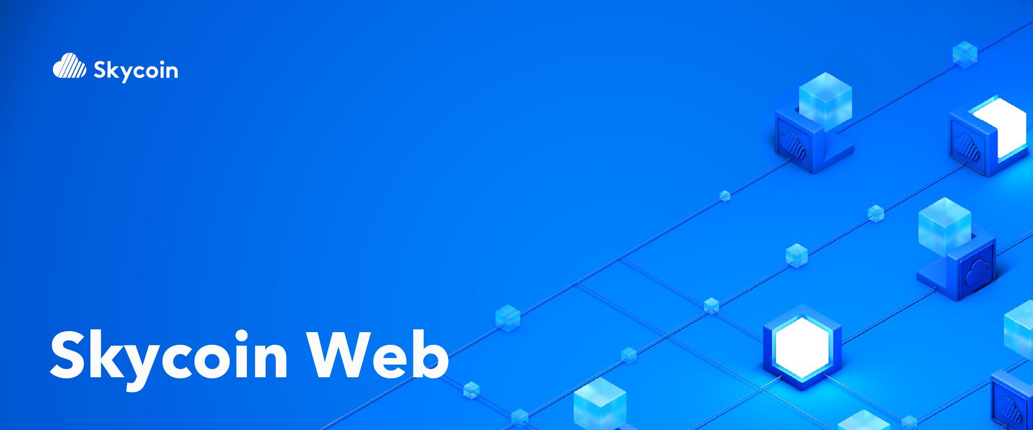skycoin web