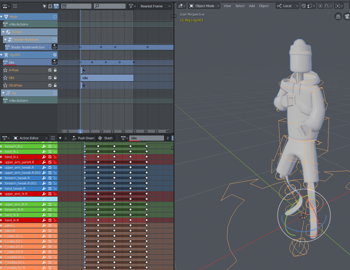 Blender 2 8 error trying to export with Rigify Armature