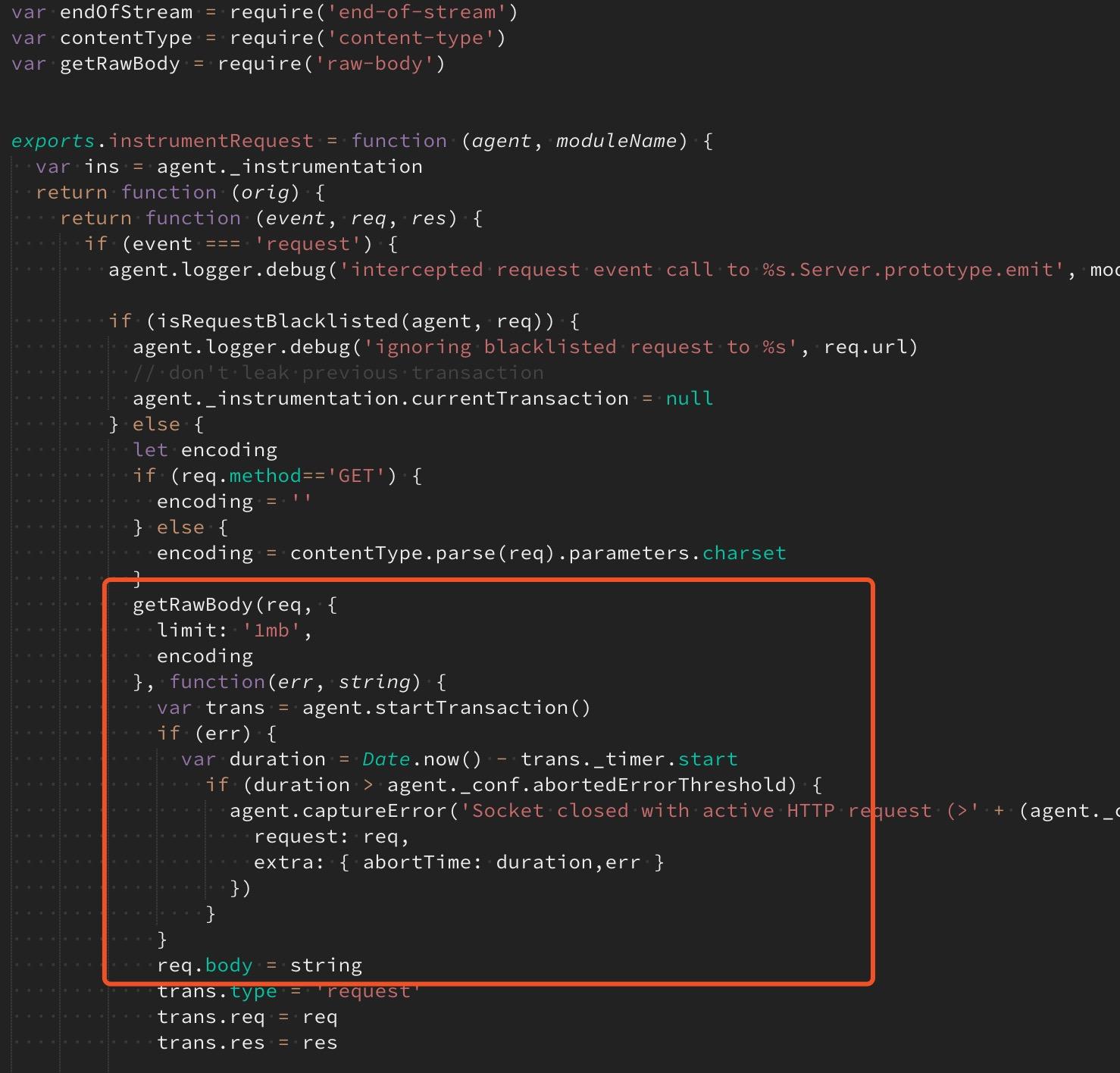 captureBody do not work · Issue #407 · elastic/apm-agent