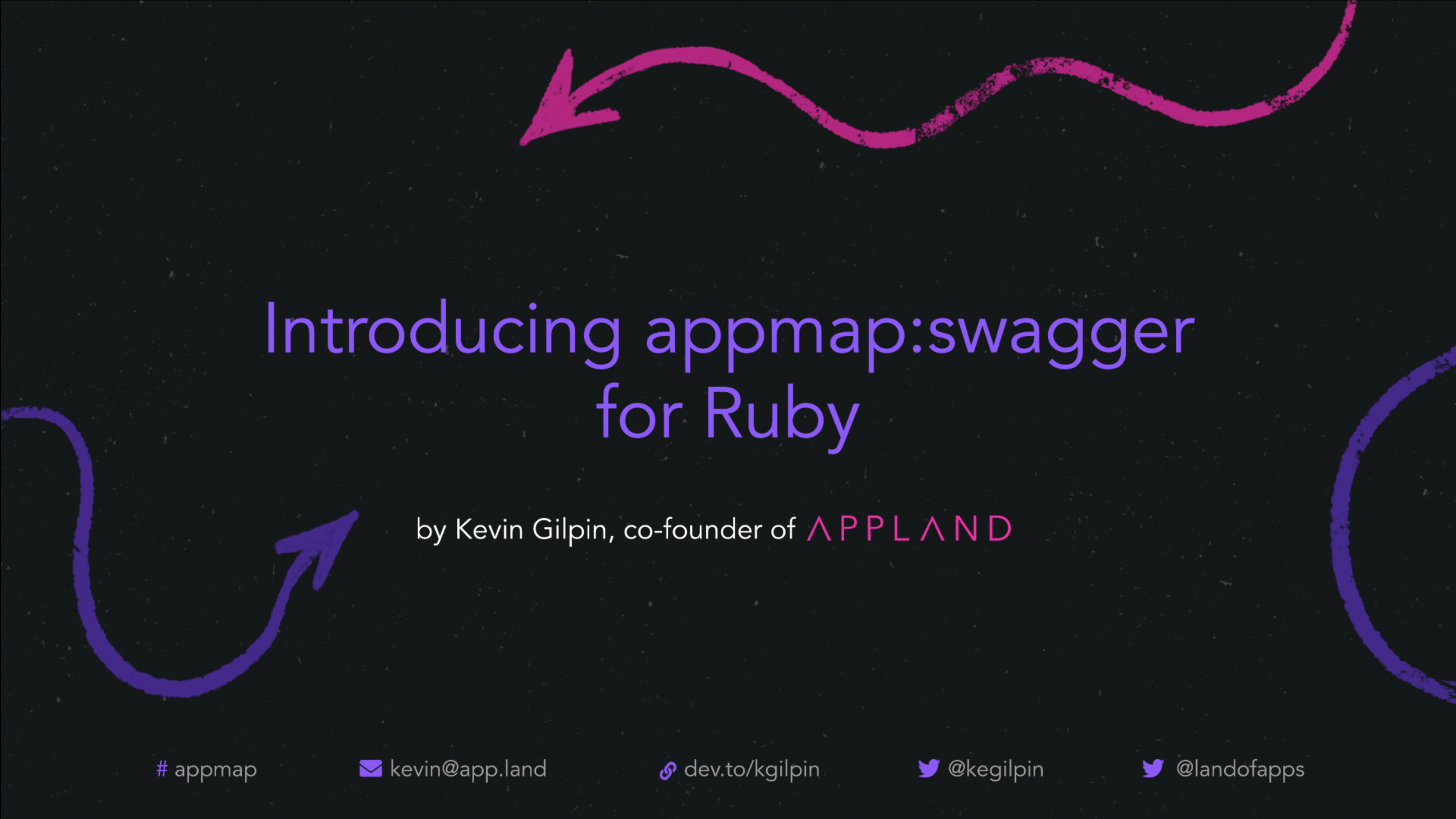 Introducing appmap_swagger